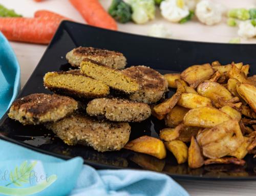 Saftige Gemüsenuggets mit Wedges – BLW geeignet