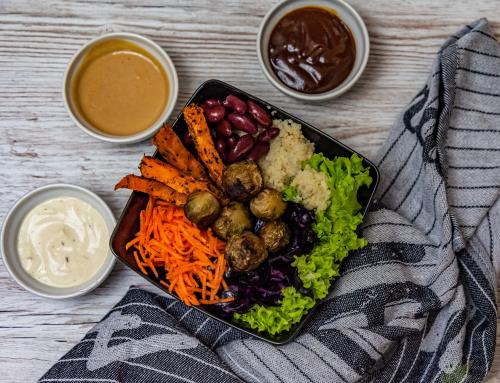 Winter Buddha Bowl und der einfache Weg zur gesunden veganen Ernährung