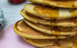 Sauerteig Pancakes