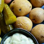 Heringssalat und Pellkartoffeln
