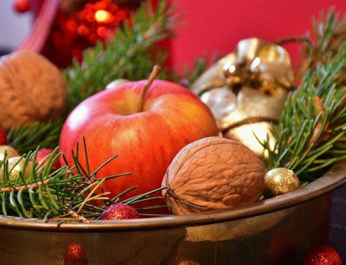 Warum wir uns so sehr über die Nüsse auf dem Weihnachtsteller freuen
